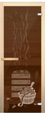 Pirtis, bronza su piešiniu
