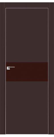 Door 4E Dark brown, brown varnish