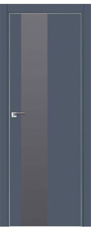 Door 5E Anthracite, silver lacquer