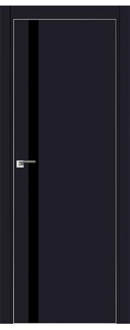Door 6E Black matte, black lacquer