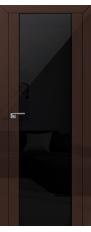 Door 8L Terra, black triplex