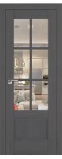 Door 103X Pecan dark, transparent