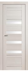 Door 32x Ashwight meling, white triplex