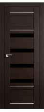 Door 32x Wenge malinga, black triplex