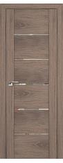 Door 99x Oak salinas dark, transparent