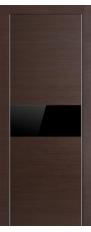 4Z Wenge Kroskutas juodas stiklas