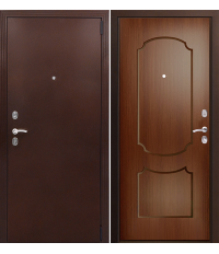 Door Factor K, FL 117, dark walnut