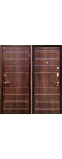 Door Metalur M1, dark walnut