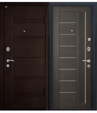 Door Metalur M17, gray meringa, frosted glass