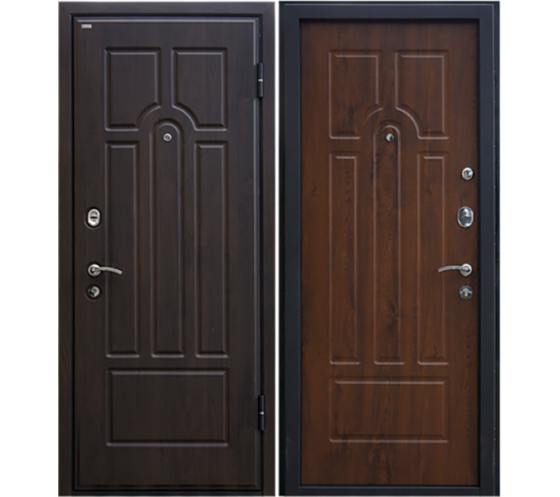 Door Metalur M5, dark walnut