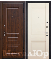 Door Metalur M9, Magnolia satinat