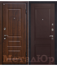 Door Metalur M9, Dark brown